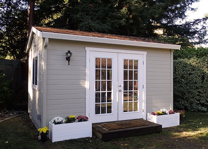 The shed shop home garden storage sheds for Garden office and shed