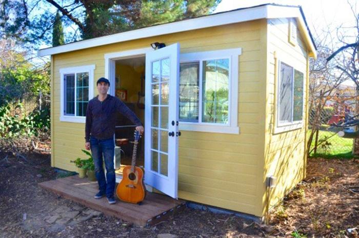 Studio 8×15. Castro Valley - The Shed Shop – Backyard Studio Model