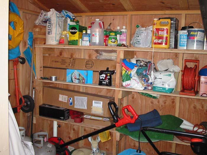 Garden & Tool Storage