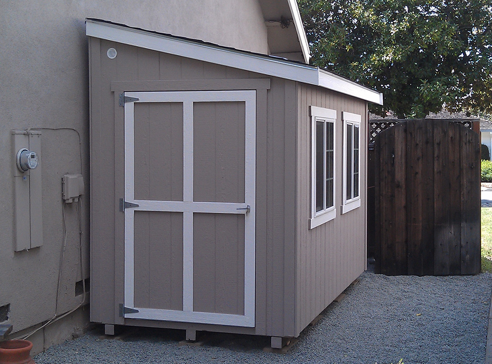 half shed no window hs 6x12 san jose 02 24 12