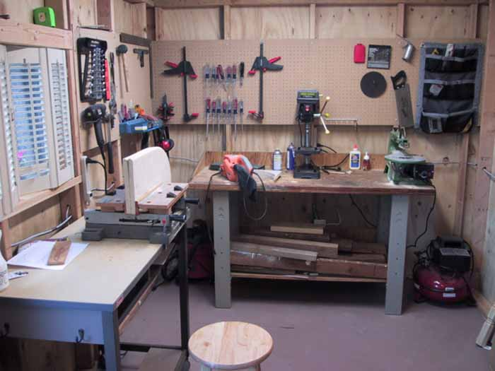 Shed Shop Testimonials Workshop or Hobby Room
