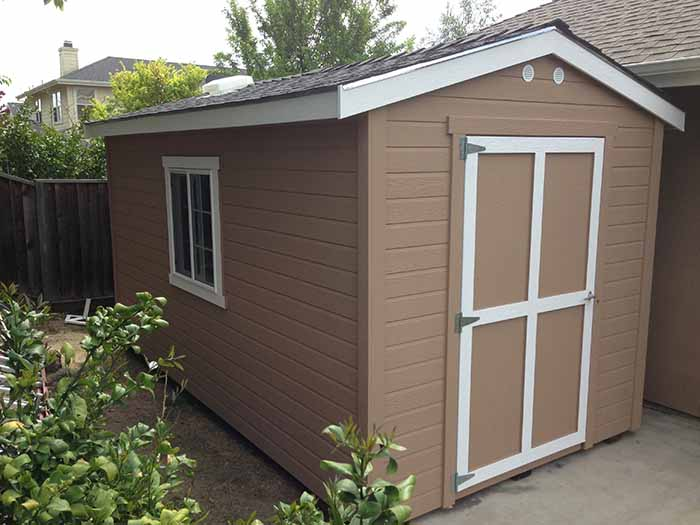 Tall Classic 8x15 With Roof Vent Livermore The Shed Shop