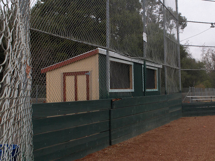 Scorekeepers Booth