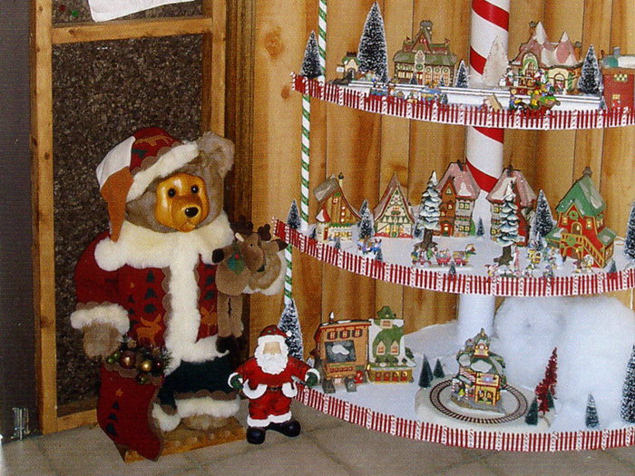 Christmas Village Shed